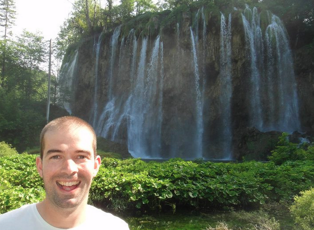 Darrell Freeman enjoying Plitvice National Parks